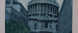 'St Paul's Cathedral', Etching Print - Artist Proof 4/15. H44 W30cm.